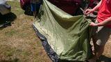 MFH minipack stan pre 2 osoby olivový 213x137x97cm