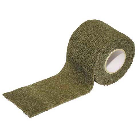MFH Samosťahovacia maskovacia páska, olivová