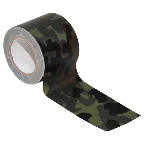 MFH Textilná páska, flecktarn, 5m