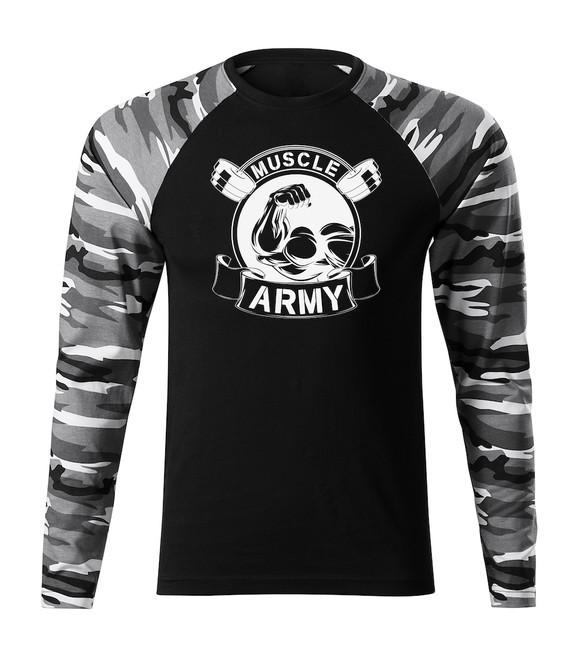 dfe84d00a0fb ... O T Fit-T tričko s dlhým rukávom muscle army original