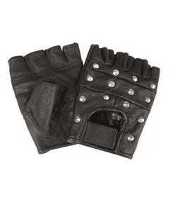 Mil-tec biker rukavice bez prstov s nitmi c358551070