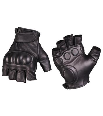 Mil-tec taktické rukavice bezprsté, čierne